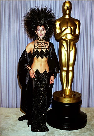 The Cher Costume-Most Bizarre Moments At Oscars Ever