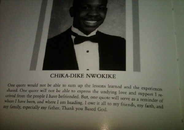 Chika Dike Nwokike-Worst Names For The School Yearbook