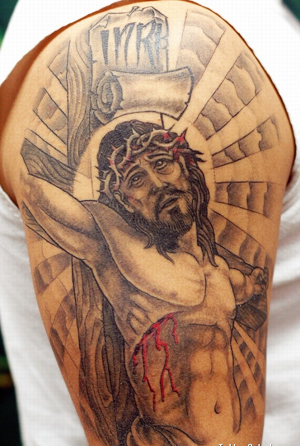 Crucifix-Amazing Jesus Tattoos