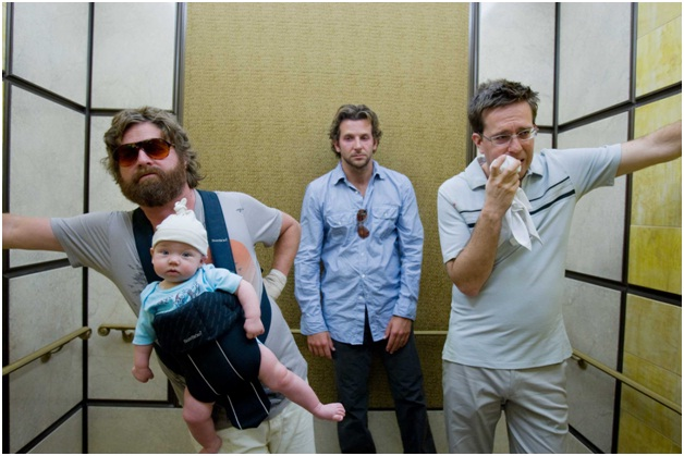 Alan Finds Multiple Babies-Funny Hangover Movie Quotes