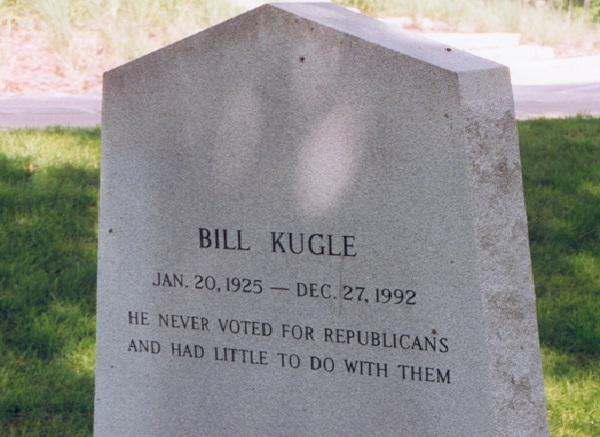 Political-Funny Tombstone Epitaphs