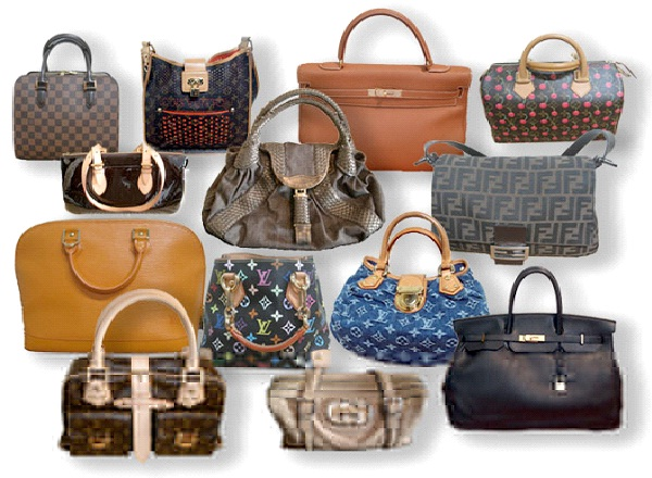 Handbags-Most Pirated Things In The World