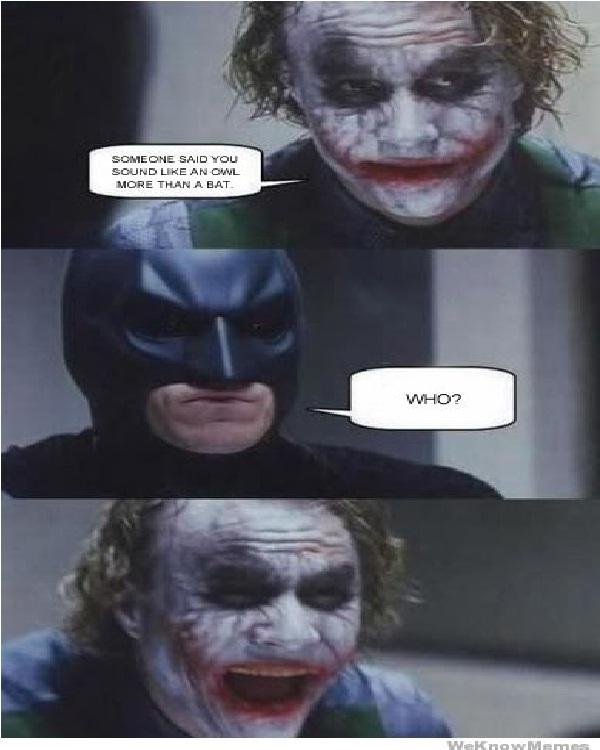Owl-Best Joker Memes