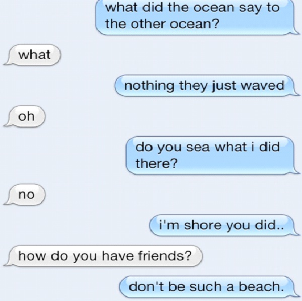 Don't Be A Beach-Cute Wake Up Messages