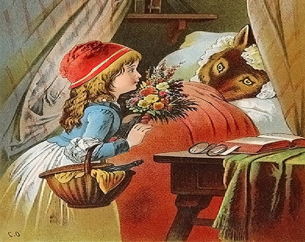Little Red Riding Hood-Truly Disturbing Fairy Tales