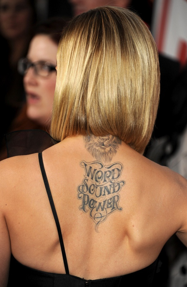 Mena Suvari-Best Celebrity Tattoos
