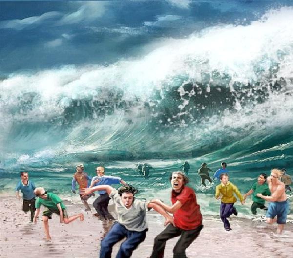 Lituya Bay Magatsunami 1858-Most Terrifying Natural Disasters In History
