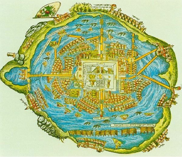 Their Capital City Was Tenochtitlan-Amazing Aztec Facts