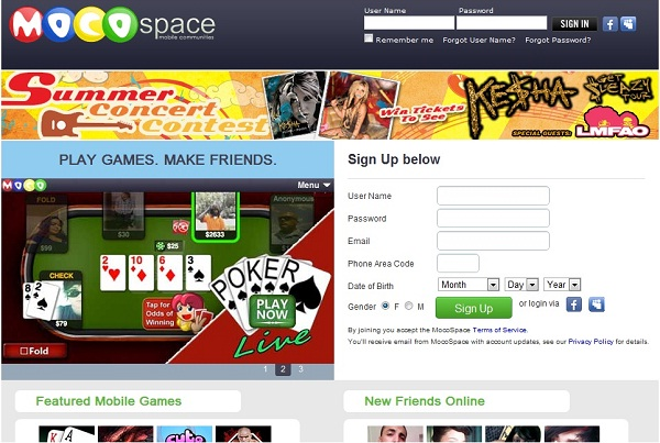 Mocospace-Best Text Chat Sites