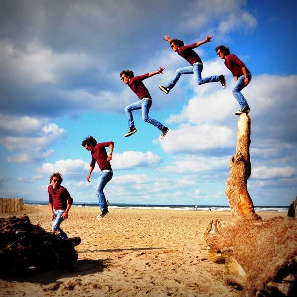 Just Jump-Crazy Sequential Photography