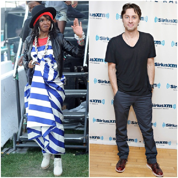 Lauryn Hill And Zach Braff-Celebrities Who Went To High School Together