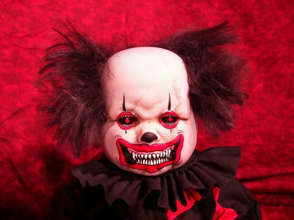 The Evil Clown-Creepiest Toys