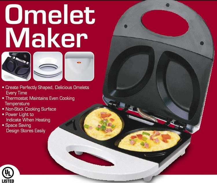 Omelet Maker With No Turning-Inventions That Make Breakfast Fun