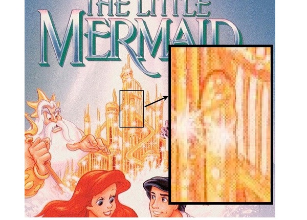 Little Mermaid-12 Subliminal Messages In Popular Advertisements