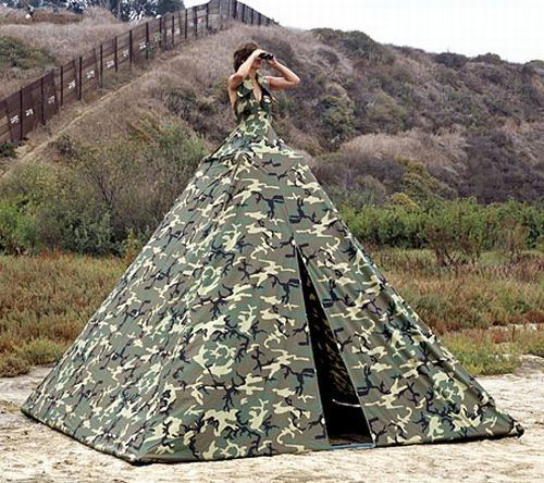 Oh Look, A Tent Dress-Most Insane Dresses Ever