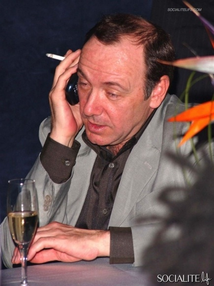 Kevin Spacey-Most Embarrassing Pics Of Male Celebs