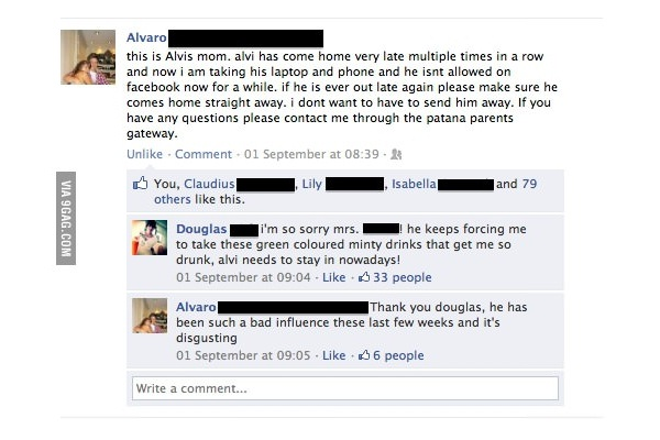 Bad boy-Best Facebook Pranks