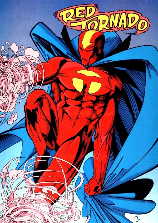 Red Tornado-Most Disgusting Superheroes Ever