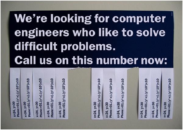 Solve Math Problem To Get Job Interview-Hilarious Job Ads
