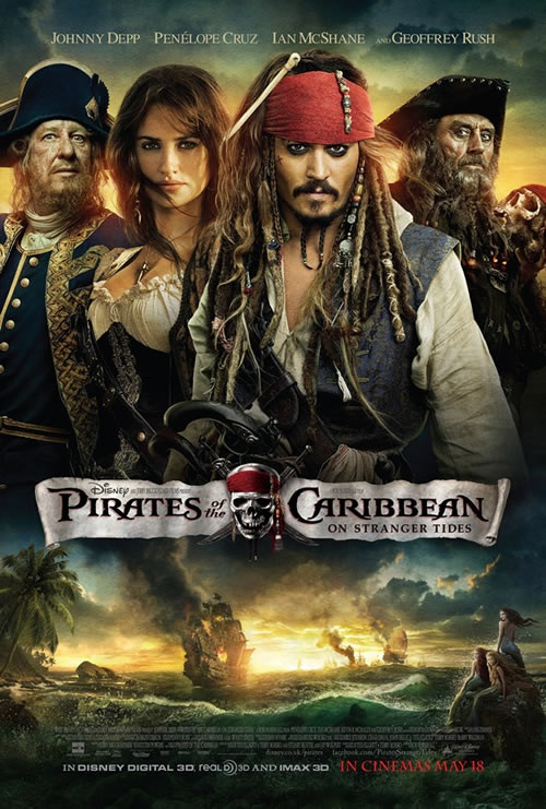 Pirates Of The Caribbean: On Stranger Tides-Highest Revenue Generating Movies Ever