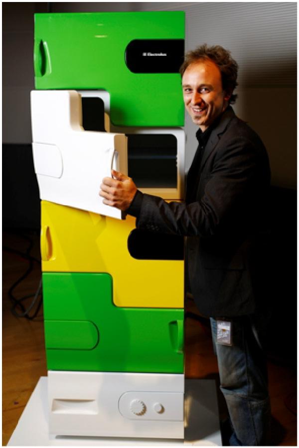 Stackable Fridge-Coolest Refrigerators