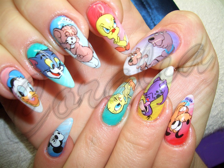 Final Note-Most Creative Nail Art