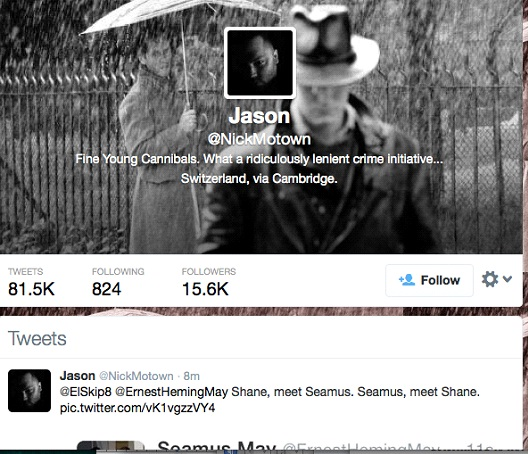 Jason @NickMotown-12 Funny Twitter Accounts To Follow
