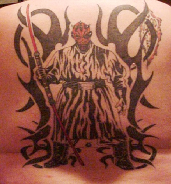 Darth Mol-Star Wars Tattoos