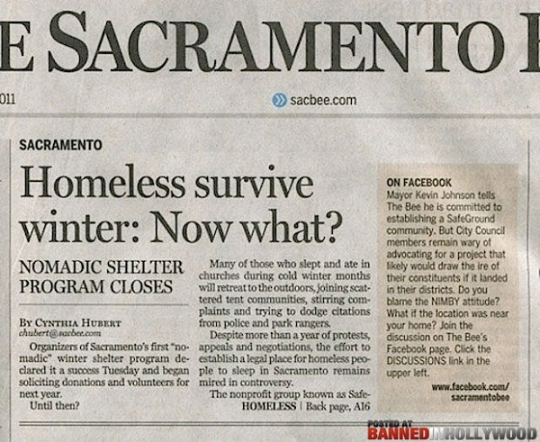 Homeless-Funny Newspaper Headlines Ever