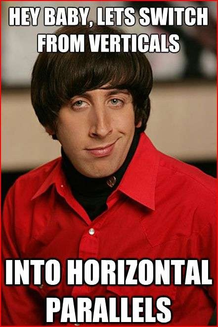 Horizontal Is Better-Best Pickup Lines From Howard Wolowitz Memes