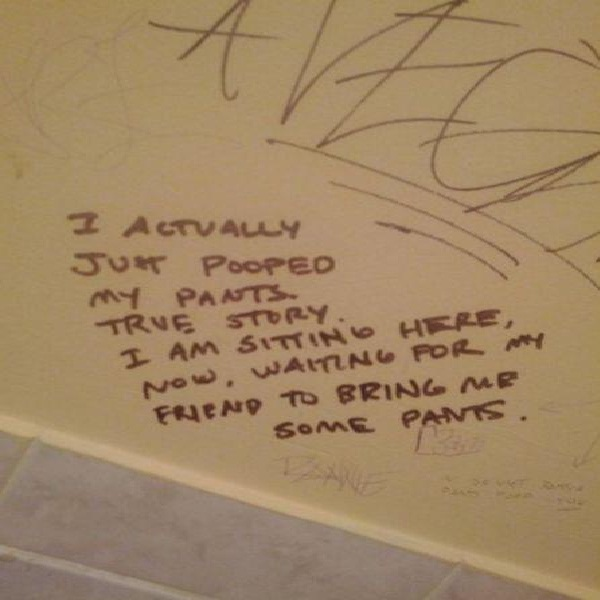 Just being honest-Funniest Toilet Graffiti
