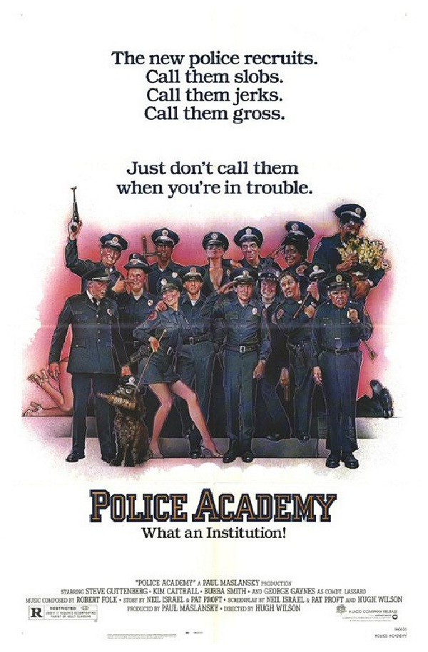 Police Academy-Best Movie Spoofs Of All Time