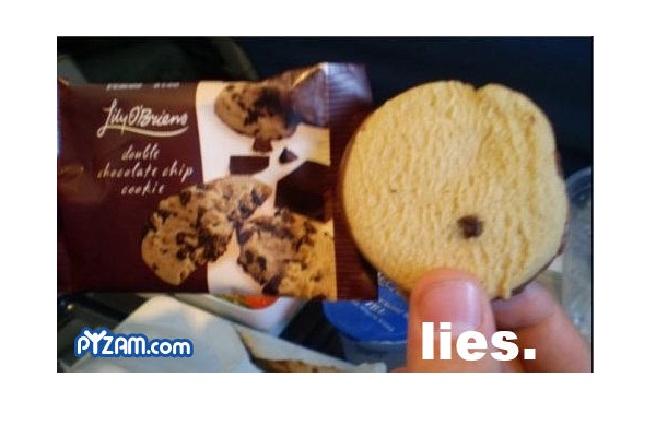 Just One Chocolate Chip Hilarious Examples Of False Advertising
