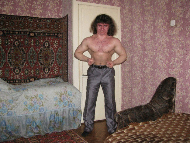 Get Those Muscles Popping-Scary Russian Dating Site Pictures
