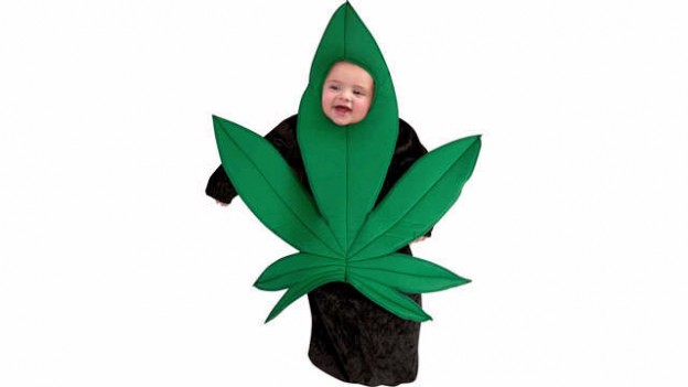Halloweed Leaf Costume-15 Disgusting Kids Halloween Costumes Ever