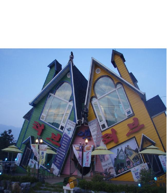 Leaning homes-Weirdest Houses In The World