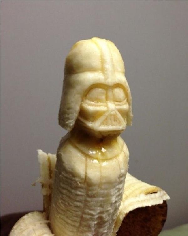 Darth Vader Banana-15 Amazing Banana Art You Will Ever See