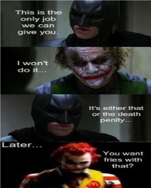 Job-Best Joker Memes