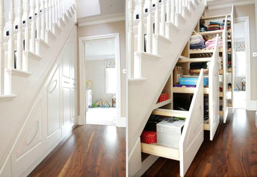 Staircase Shelves-Awesome Home Interior Designs Ever