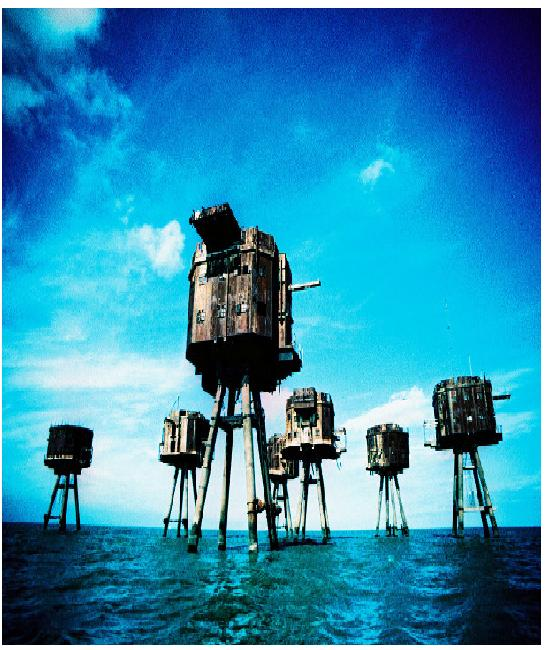 Sea Forts-Most Abandoned Places In The World