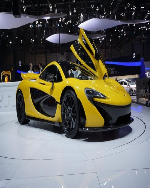 McLaren P1-Most Expensive Cars In The World