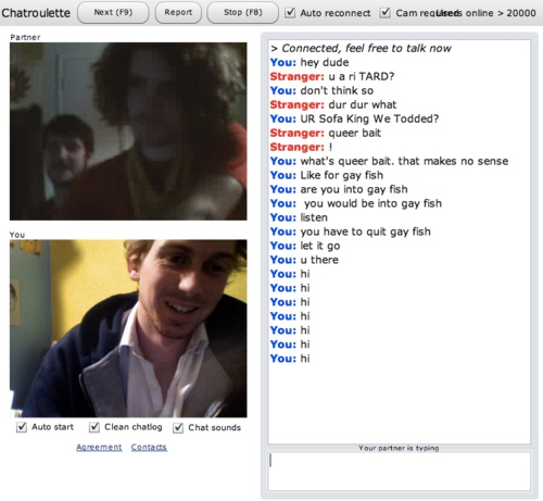 Gay video chat roulette