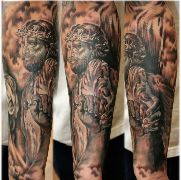 Crucifixion 2-Amazing Jesus Tattoos