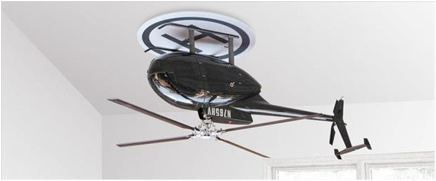 Helicopter Fan-Must Have Man Cave Accessories