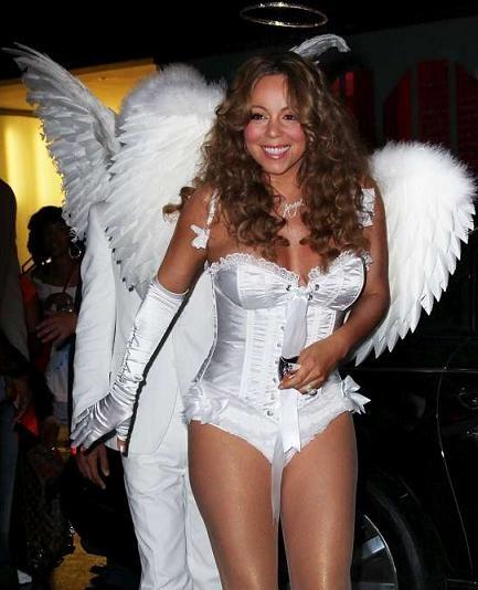 Mariah Carey-Celebrities In Hot Halloween Costumes
