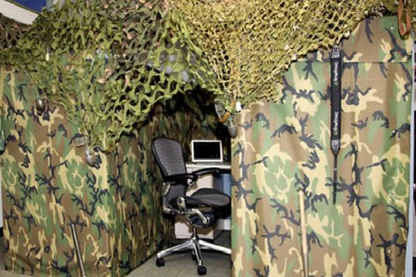 Army Bunk-Coolest Cubicles And Work Spaces