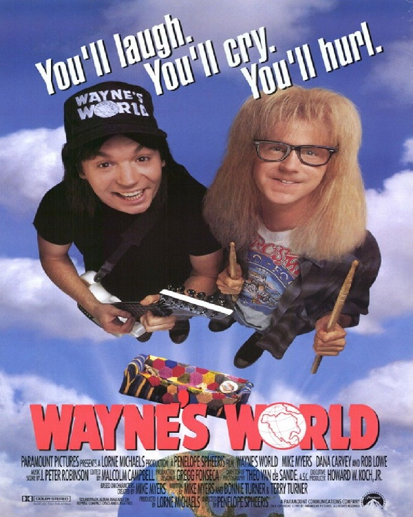 Wayne's World-Best Comedy Movies Of All Time