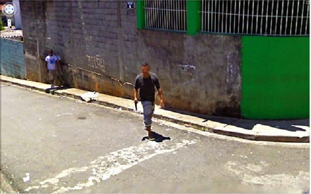 Before Or After?-Disturbing Google Street Views