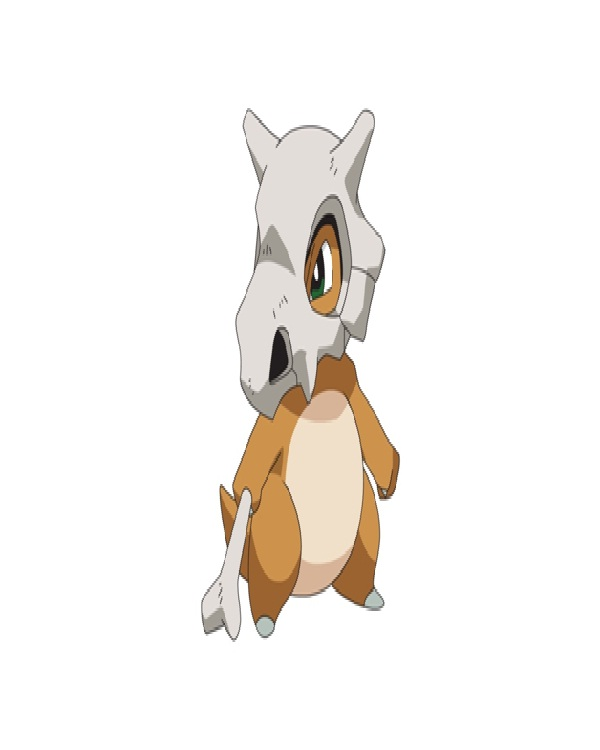 Cubone-Disgusting Looking Pokemon Characters