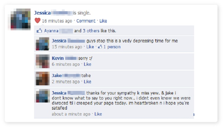 Facebook Drama at its Best-15 Images That Show How Internet And Social Media Ruins Relationships